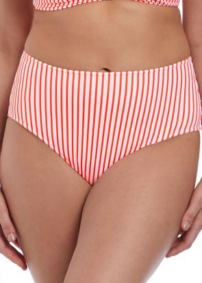 Freya Swim Totally Stripe bikiniunderdel med hög midja XS-XXL mönstrad