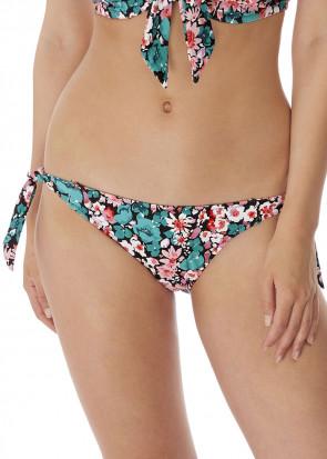 Freya Swim Water Meadow bikiniunderdel med sidknytning XS-XL mönstrad