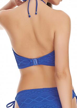 Freya Swim Sundance Croptop Bikiniöverdel D-I kupa blå