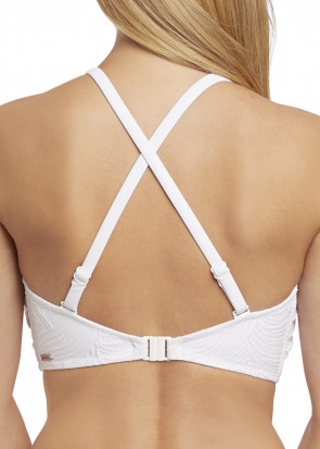 Fantasie Swim Ottawa bikiniöverdel bandeau D-I kupa vit