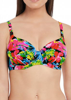 Fantasie Swim Santa Barbara bikiniöverdel D-M kupa mönstrad