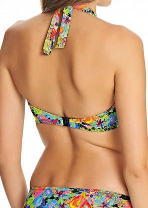 Freya Island Girl Halterneck Bikiniöverdel C-J kupa mönstrad