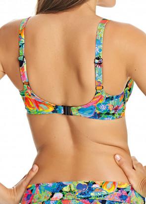 Freya Island Girl Bikiniöverdel D-J kupa mönstrad