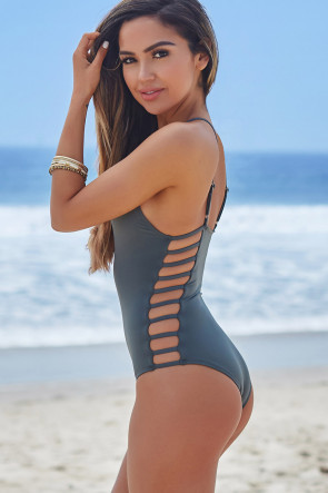 Peony One Piece Swimsuit