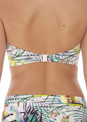 Fantasie Swim Playa Blanca bikiniöverdel bandeau D-I kupa mönstrad