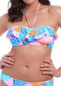 Freya Swim Festival Girl Bandeau bikiniöverdel C-I kupa mönstrad