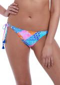 Freya Swim Festival Girl bikiniunderdel med sidknytning XS-XL mönstrad