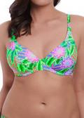 Freya Swim Zamba Halter bikiniöverdel D-M kupa mönstrad
