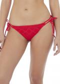 Freya Swim Sundance bikiniunderdel med knytning XS-XL röd