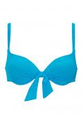 Damella vadderad bikiniöverdel 36-48 turkos