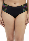 Elomi Swim Neon Nights Mid Rise Brief Bikiniunderdel 40-50 mönstrad