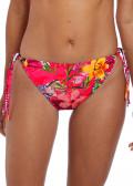 Fantasie Swim Anguilla bikiniunderdel med sidknytning XS-XL mönstrad röd
