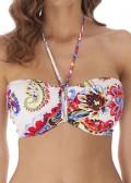 Freya Swim Rococo bikiniöverdel bandeau C-H-kupa mönstrad