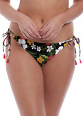 Freya Swim Tiki Bar bikiniunderdel med sidknytning XS-XL mönstrad