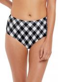 Freya Swim Totally Check bikiniunderdel XS-XXL mönstrad