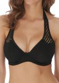 Freya Swim Urban Night bikiniöverdel halterneck D-J-kupa svart