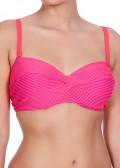 Freya Swim Horizon Twist Front bandeau Bikinitop C-I kupa Rosa