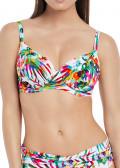 Fantasie Margarita Island Bikiniöverdel D-M kupa mönstrad