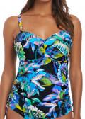 Fantasie Swim Paradise Bay tankini D-K kupa aqua multi