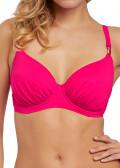 Fantasie Swim Amalfi fullkupa bikiniöverdel D-K kupa rosa