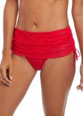 Fantasie Swim Marseille bikiniunderdel med kjol S-XL röd