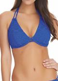 Freya Swim Sundance Halterneck Bikiniöverdel C-H Kupa blå