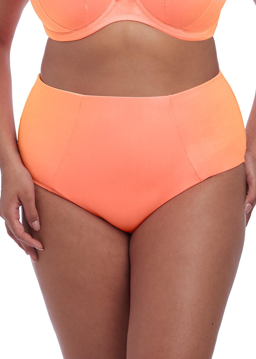 e1717883 Elomi Swim Amazonia bikiniunderdel classic brief 42-52 orange - Beachwear.se
