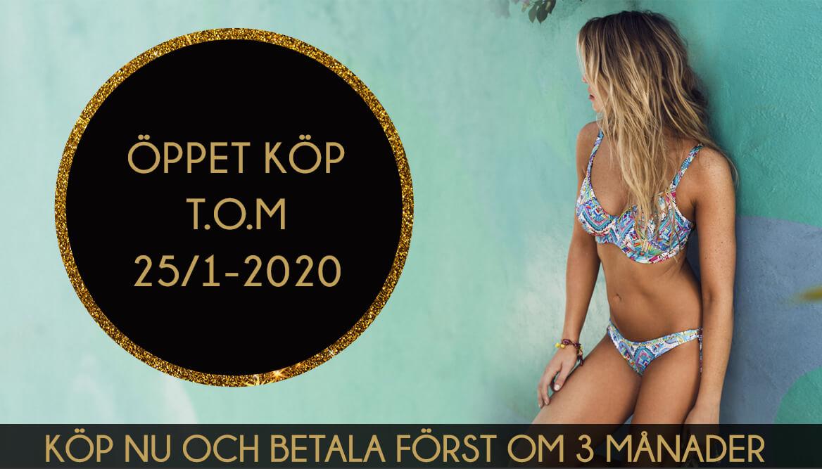 Öppet köp t.o.m 25/1-2020 - Köp nu och betala först om 3 månader
